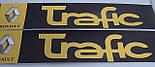 Наклейки на порожки  (чёрно-жёлтые) на Renault Trafic 2001->  —  Турция, фото 2