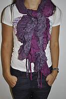 Фиолетовый шарфик
