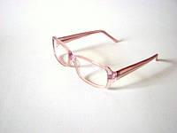 Очки антибликовые для компьютера, розовые, прозрачные,100% защита Вашим глазам, Tempo