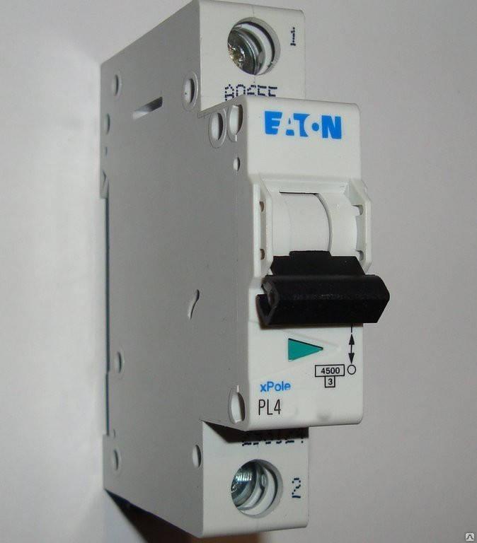 Автоматический выключатель Eaton (Moeller) PL4, C 32А 1- пол., 4,5kA