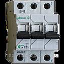 Автоматический выключатель Eaton (Moeller) PL4, C 20А 3- пол., 4,5kA, фото 2