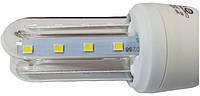 Светодиодная лампа Е27 2U 3 Вт теплый белый (3200К), фото 1