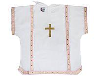 Рубаха для крещения Миткаль р.74-86