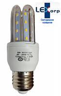 Светодиодная лампа Е27 3U 5 Вт теплый белый (3200К), фото 1