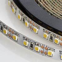 Гибкая светодиодная IP-20  SMD3528 лента, 5м;120leds/m, 5мм*2,4мм, 12Vdc, 800mA/m, (960Lm/m), 6000-6500K,