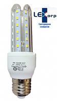 Светодиодная лампа Е27 3U 7 Вт нейтральный белый (4200К), фото 1
