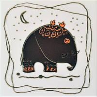 Orly Elephant M (Орли слон коричневый)