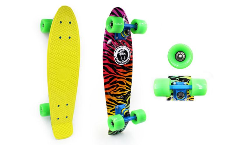 Скейтборд Penny Board ZOO FISH SK-4442-2
