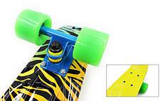 Скейтборд Penny Board ZOO FISH SK-4442-2, фото 2