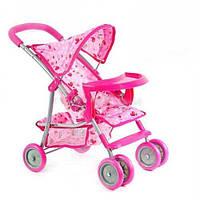 Прогулочная детская коляска для кукол Melogo (Melobo) 9304 BWT/ 025 КК HN