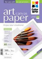Бумага CW ART Canvas 380г/м, A4 PCN380-5