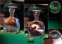 """Бутылка сувенир """"Бильярд"""". Подарок бильярдисту. бизнес-сувенир"""