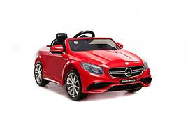 Дитячий електромобіль Mercedes Benz S63 Червоний