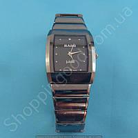 Часы Rado Jubile 114006 мужские прямоугольные темная сталь