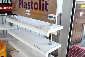 Свой выбор она остановила на подоконнике Plastolit белый глянец. Это отличное соотношение цены-качества. Увеличенная толщина, устойчивость к повреждениям, царапинам, красота и долговечность в сочетании с доступной ценой сразу привлекает внимание.
