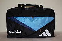 Дорожная сумка Adidas черная голубая