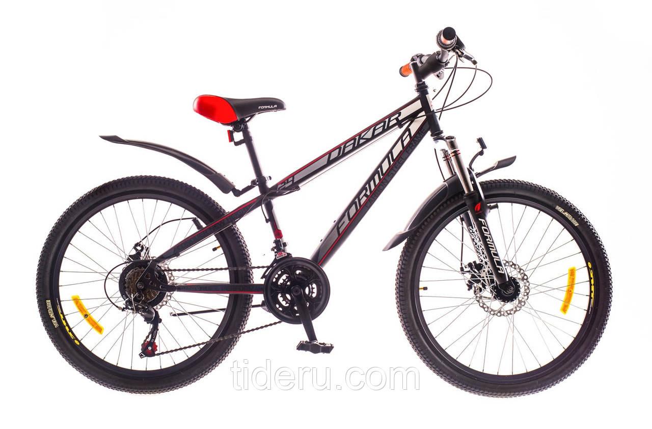 """Велосипед Formula DAKAR (2015),  рама 13""""  (черно-красный (м))"""