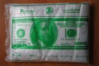 Пакет полиэтиленовый фасовочный Доллар 250*380 см  Мастер Торг