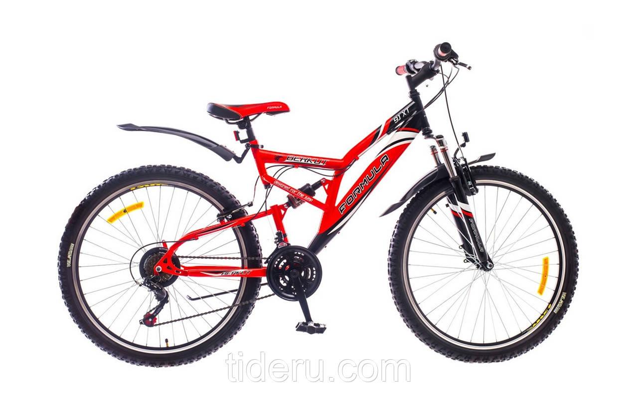 """Велосипед Formula BERKUT (2015),  рама 18""""  (красно-черный)"""