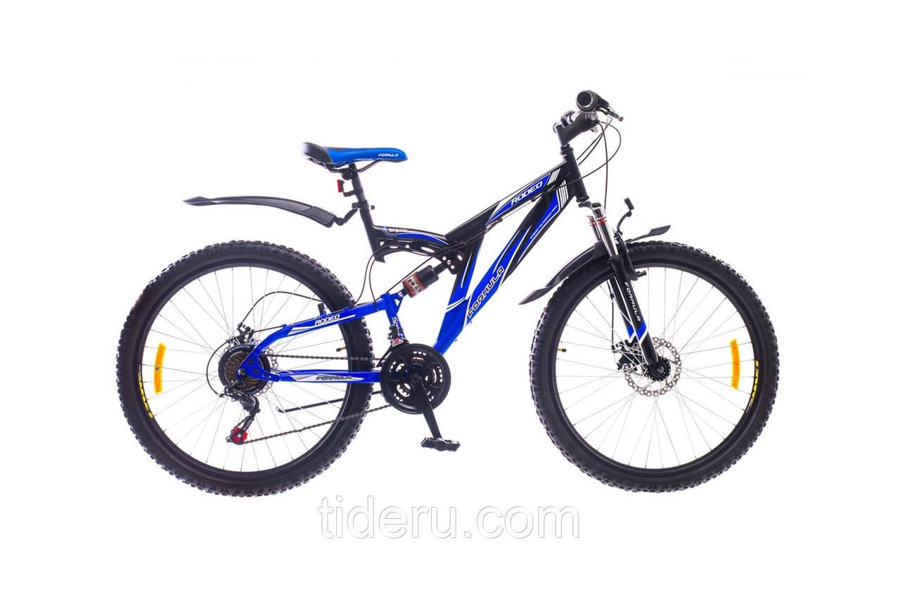 """Велосипед Formula RODEO (2015),  рама 18""""  (сине-черный)"""