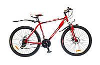 """Велосипед OptimaBikes SPRINTER (2015),  рама 17""""; 19""""  (красно-белый)"""