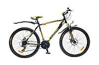 "Велосипед OptimaBikes SPRINTER (2015),  рама 17""; 19""  (черно-желтый)"