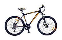 """Велосипед OptimaBikes THOR (2015),  рама 17""""; 19""""  (черно-желтый)"""