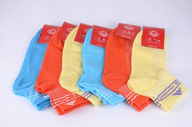 Женские носки заниженные Adidas (Y330/A2)   12 пар, фото 2