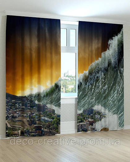 Фотошторы цунами
