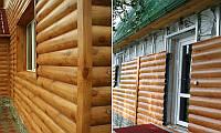 Металлический сайдинг Блок-хаус