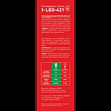 LED лампа Maxus E14 6W (500Lm) 3000K 220V AP C37 CL-C, фото 3