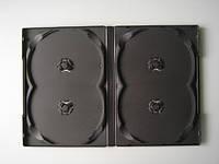 Футляр (бокс) для DVD/CD дисков 14 мм на четыре диска