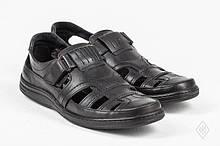 Туфлі чоловічі шкіряні 40-45 р. чорні.