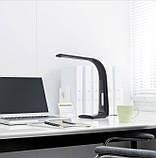 Функциональный настольный LED светильник Intelite (черный) 3000-5600K (500Lm) DL1-7W-BL, фото 2