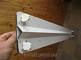 Светильник Luxled под светодиодные лампы Т8 G13 600 мм (двухместный прямоугольный), фото 3