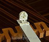 Светильник Luxled под 1 светодиодную лампу Т8 G13 600 мм (треугольный), фото 4