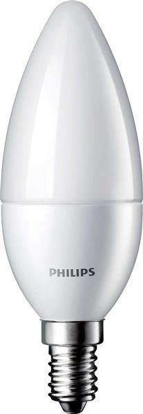 Лампа светодиодная Philips LEDcandle ND E14 6-40W(470Lm) 827 B39 FR CorePro