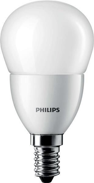 Лампа светодиодная Philips LEDluster ND E14 6-40W(470Lm) 827 P48 FR CorePro