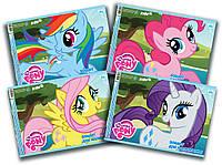 Альбом для рисования My Little Pony, 30 листов на спирали, 120г/м2, УФ-лак LP16-243