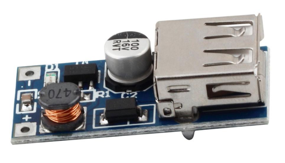 Підвищує модуль перетворювач DC-DC 0.9-5В