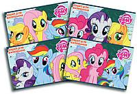 Альбом для рисования My Little Pony, 12 листов на скобе, 120г/м2, УФ-лак LP16-241