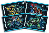 Альбом для рисования Transformers, 24 листа на скобе, 120г/м2, УФ-лак  TF16-242