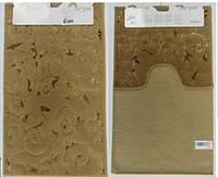 Набор ковриков для ванной и туалета  Arya Sarmasik коричневый
