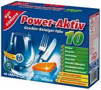 Таблетки для посудомийних машин Gut & Günstig Power-Active - 40х18 г.