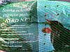 """Защитная сетка от птиц Польша """"Bradas"""" зеленая 4*20м"""