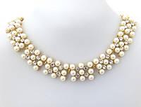 Ожерелье нежные жемчужины