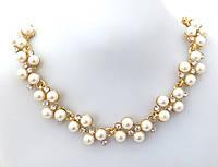 Ожерелье жемчужный переплет