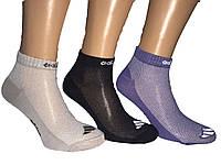 Носки мужские короткие сетка спорт Adidas пр-во Турция