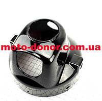 Фары круглой задняя часть (корпус) ЧЕРНЫЙ для мопеда DELTA, фото 1