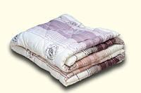 Одеяло шерстяное зимнее евро 2,00*2,20 сатин